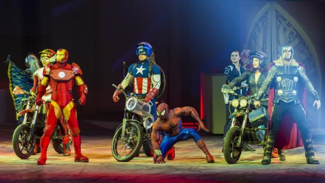 Innerplace Recommended Venue Marvel Universe Live