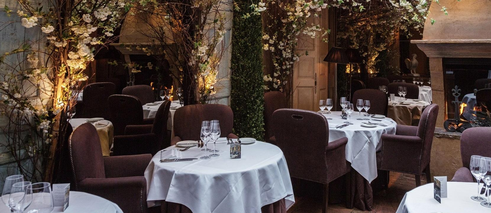 Clos Maggiore Upstairs Dining Room