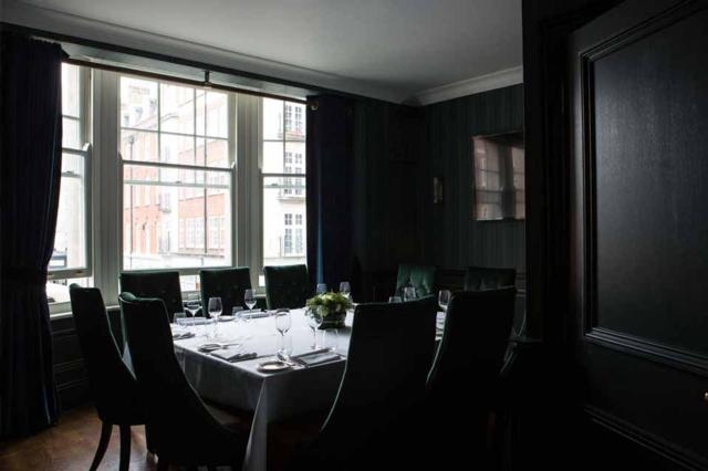 The Cavendish   one of Innerplace's exclusive restaurants in London