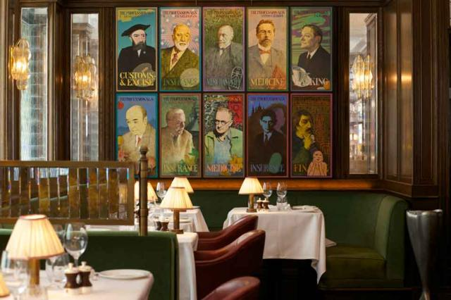 The Ivy  one of Innerplace's exclusive restaurants in London