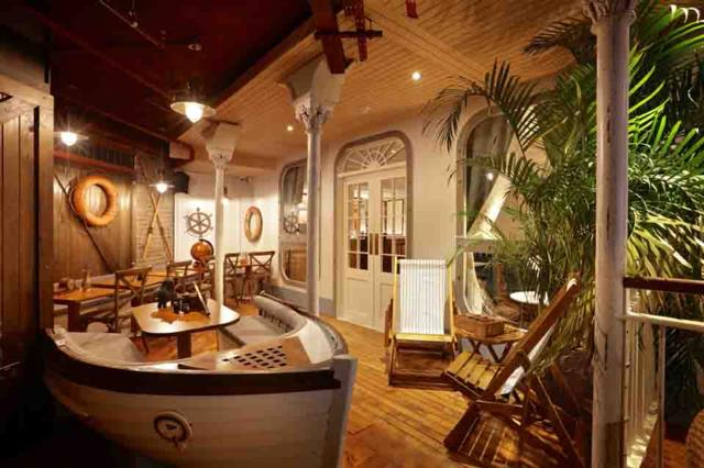 Mrs Fogg's Maritime Club  one of Innerplace's exclusive bars in London