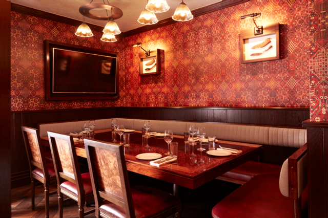 Brigadiers  one of Innerplace's exclusive restaurants in London