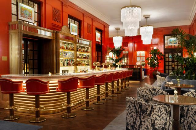 The Coral Room  one of Innerplace's exclusive bars in London