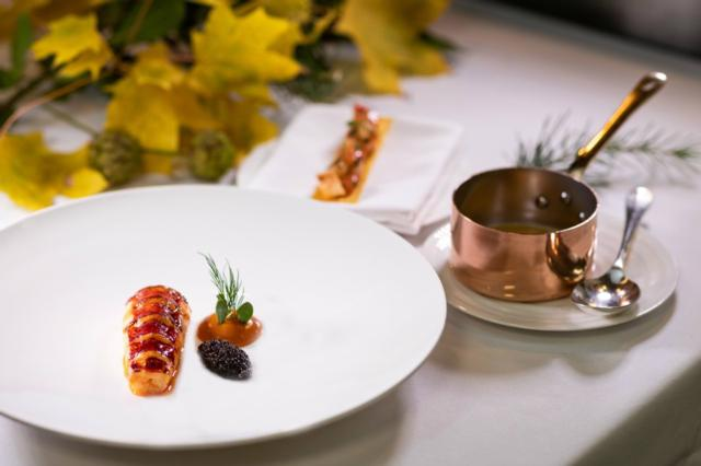 Alyn Williams at The Westbury   one of Innerplace's exclusive restaurants in London