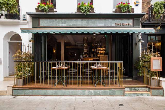 The Ninth  one of Innerplace's exclusive restaurants in London