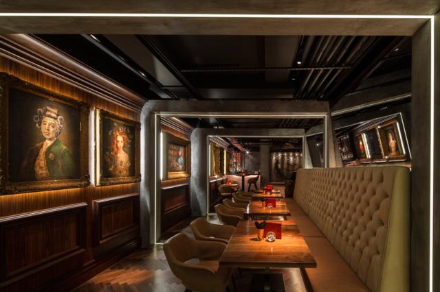 MNKY HSE  one of Innerplace's exclusive bars in London