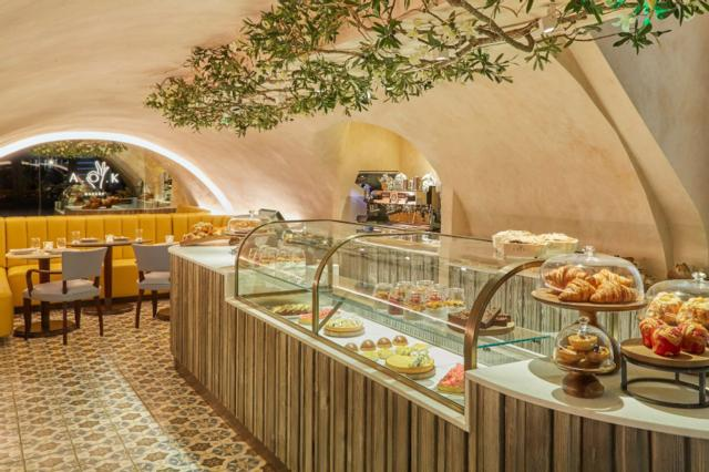 AOK Kitchen and Bakery  one of Innerplace's exclusive restaurants in London
