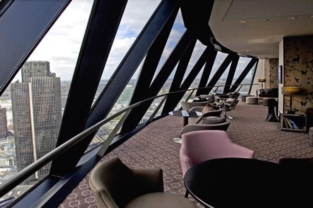 Searcys at The Gherkin  one of Innerplace's exclusive bars in London