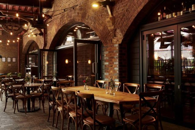 The Drop  one of Innerplace's exclusive restaurants in London