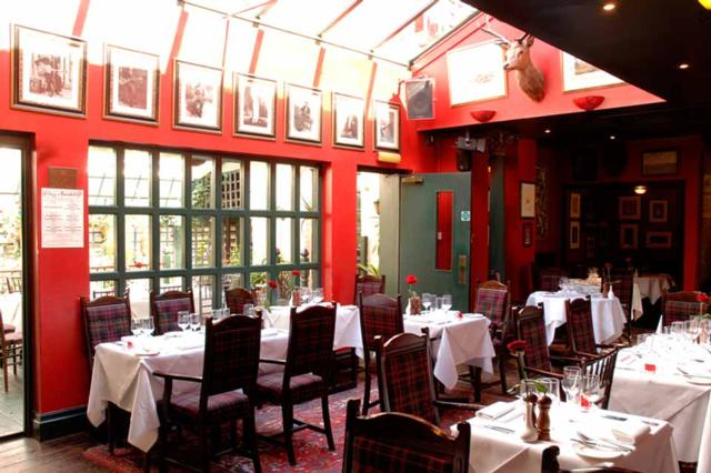 Boisdale of Belgravia  one of Innerplace's exclusive bars in London