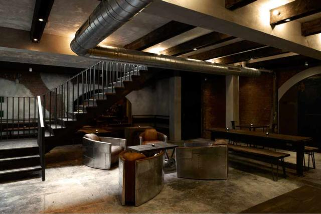 Oskar's Bar at Dabbous  one of Innerplace's exclusive bars in London