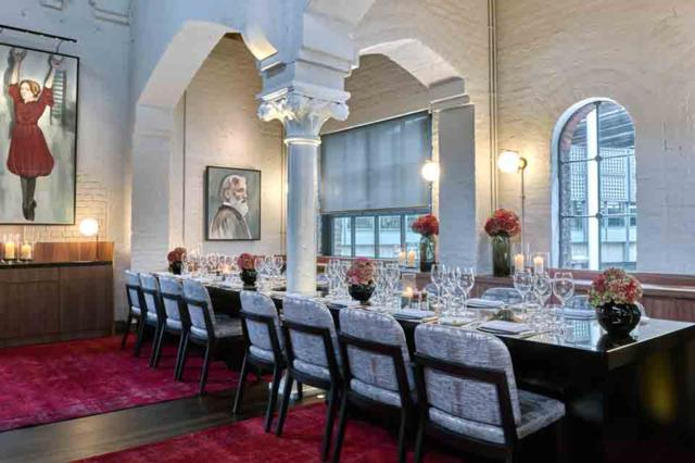 German Gymnasium  one of Innerplace's exclusive restaurants in London